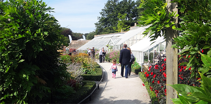 Greenhouses at the Country Life Fair