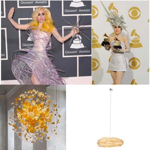 Lady Gaga,designer lighting,designer ceiling lights,