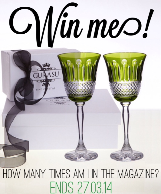 Mother's Day,giveaway,competition,coloured glassware,