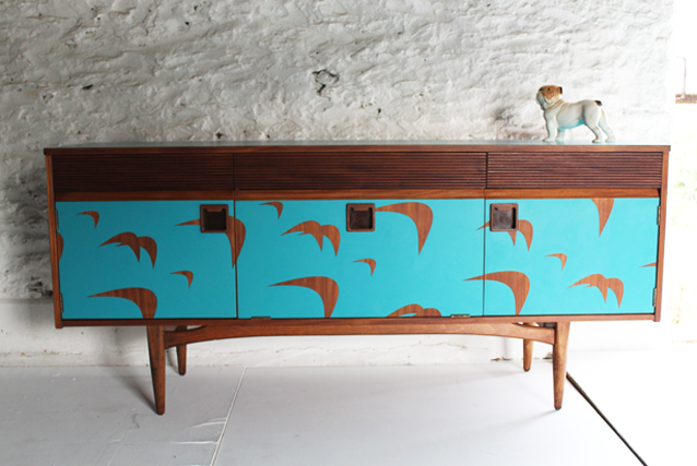 designer sideboards,up-cycled furniture,lucy turner,