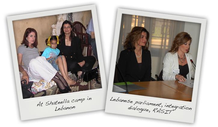 Princess Nisreen in Lebanon