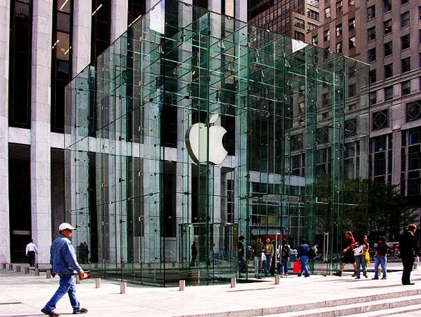 glass apple shop