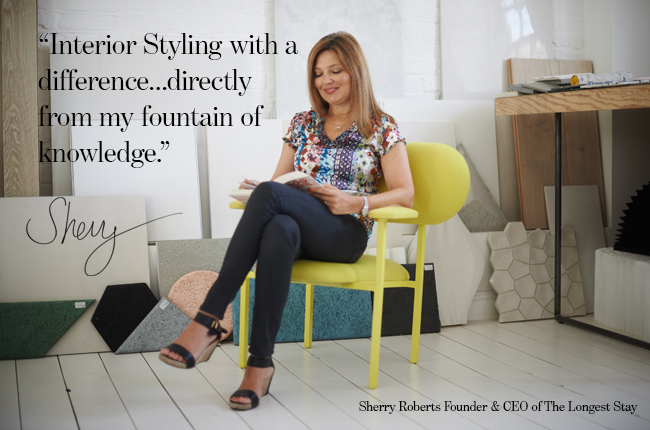 Sherry with interior styling book