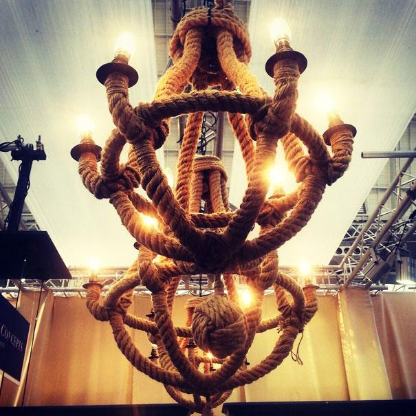 rop chandelier