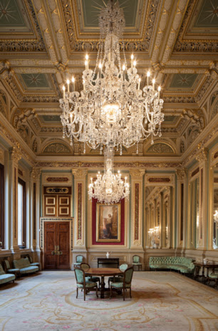 Draper's Hall,classical interior design,chandelier