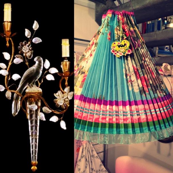 designer lampshades,decorative lighting,antique lighting,