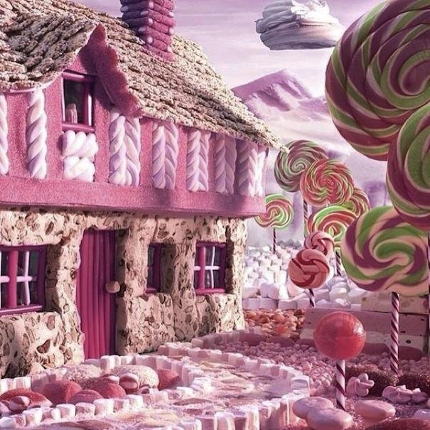 Candy House,Hansel & Gretel,Hans Christian Anderson,