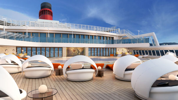 Furniture And Interior Design News UK - Qe2 cruise ship