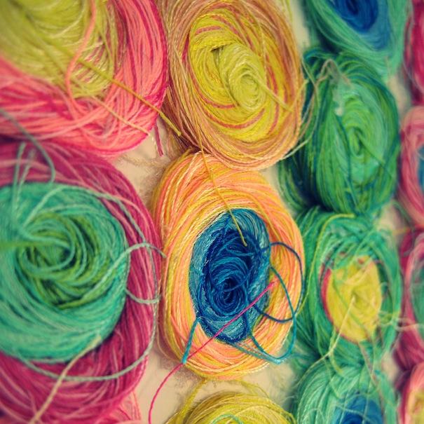 colourful textiles,Carolina Gomez-Aubert,candy inspired design,